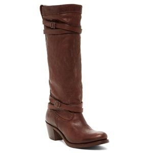 Frye | Jane Tall Strappy Riding Boots